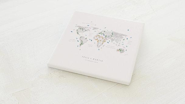 Fingerabdruckposter - Love map