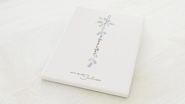 Fingerabdruckposter - Ankerkreuz