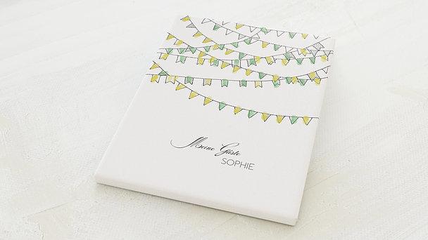 Fingerabdruckposter - Wimpel Geburtstag