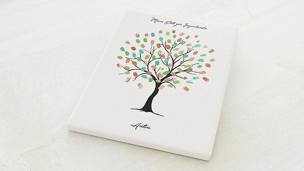 Fingerabdruckposter - Jugendfest Kiefer