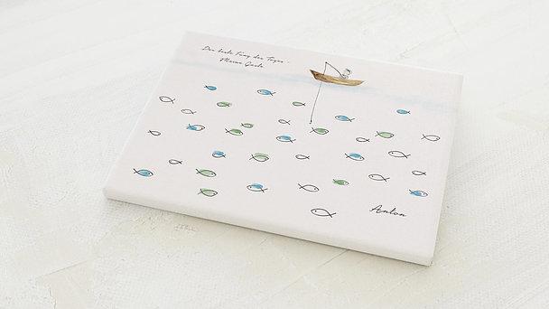 Fingerabdruckposter - Mein Fang Kommunion