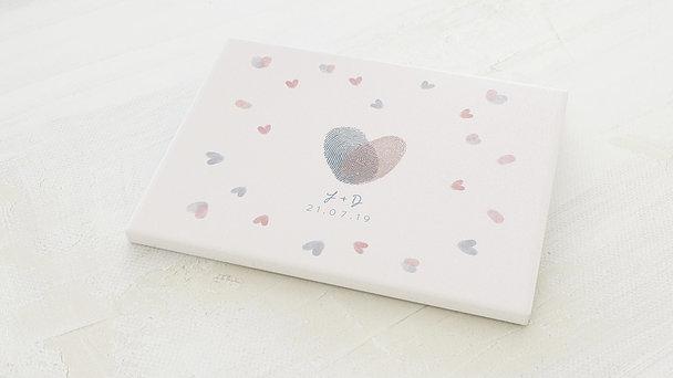 Fingerabdruckposter - Pfeil des Amors