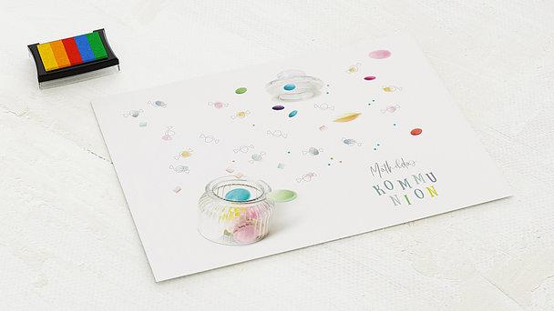 Fingerabdruckposter - Candy Boom Kommunion