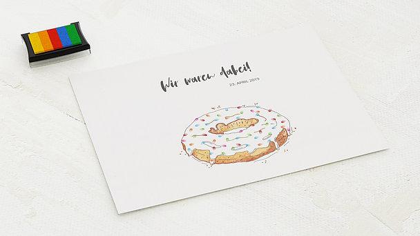 Fingerabdruckposter - Donut