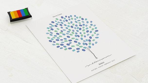 Fingerabdruckposter - Finger Balloon