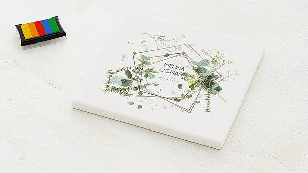 Fingerabdruckposter - Herbal Art