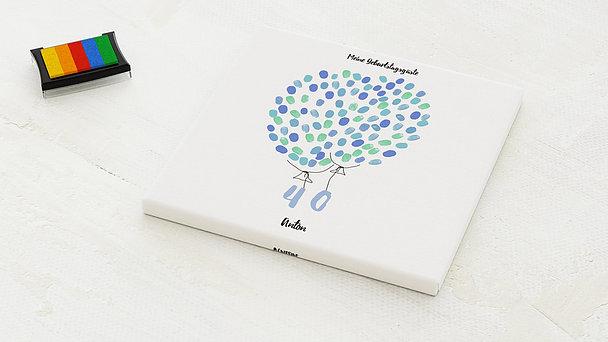 Fingerabdruckposter - Fliegende 40