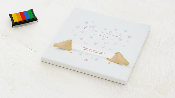 Fingerabdruckposter - Fortune Cookie