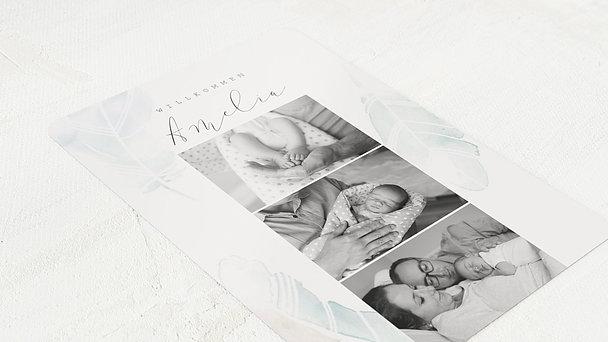 Geburtskarten - Federstreich