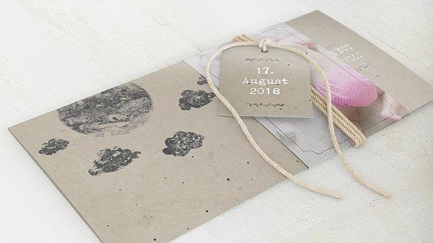 Geburtskarten - Mondschein
