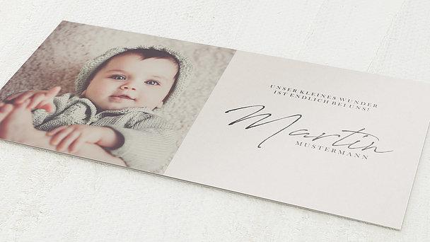 Geburtskarten - Kleines Wunder