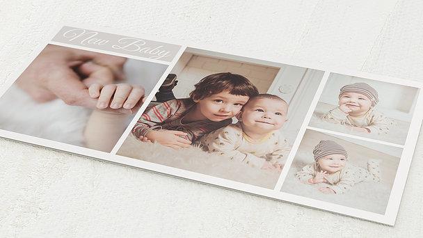 Geburtskarten - Babycollage