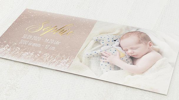 Geburtskarten - Zauberlicht Baby