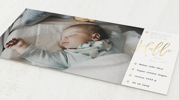 Geburtskarten - Meine Maße