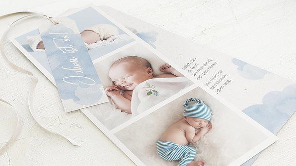 Geburtskarten - Wölkchen