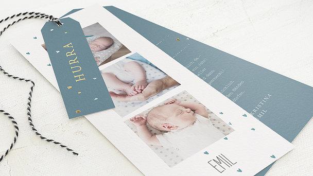 Geburtskarten - Herzlein