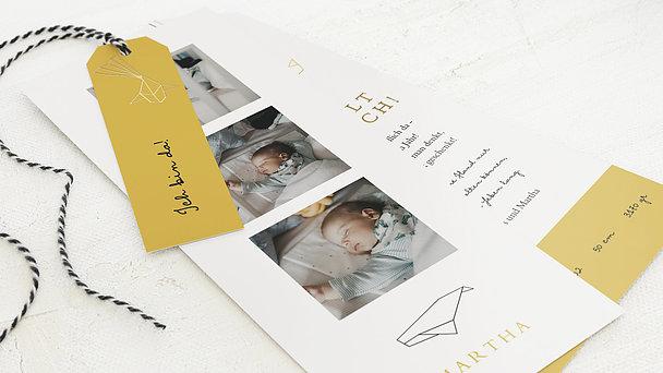 Geburtskarten - Origami