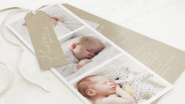 Geburtskarten - Erstes Foto