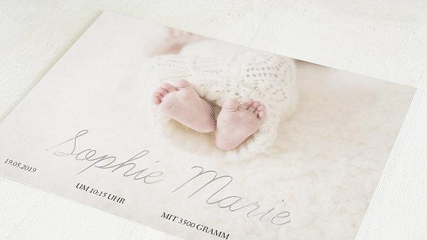 Geburtskarten - Einfach & Simple