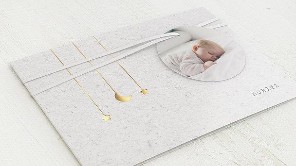 Geburtskarten - Kleiner Stern