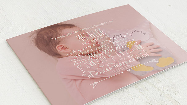 Geburtskarten - Babyboom