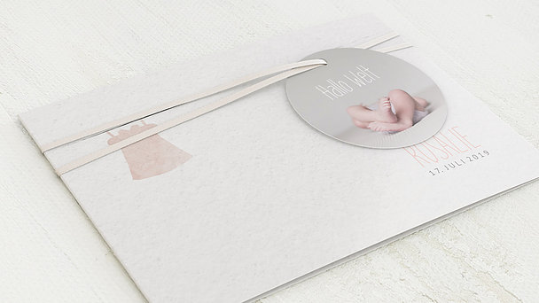 Geburtskarten - Strampler