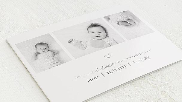Geburtskarten - Kleiner Schatz