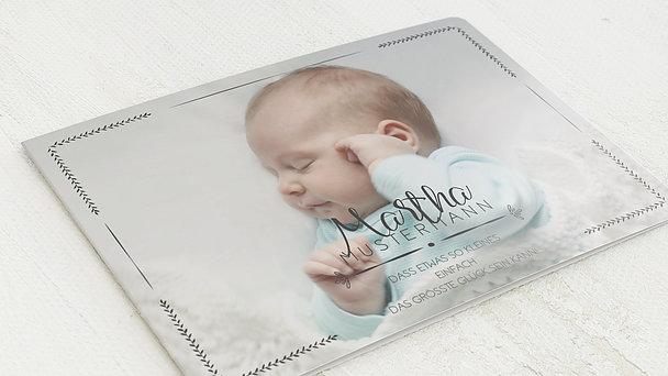 Geburtskarten - Größtes Glück