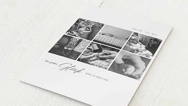 Geburtskarten - First Photos