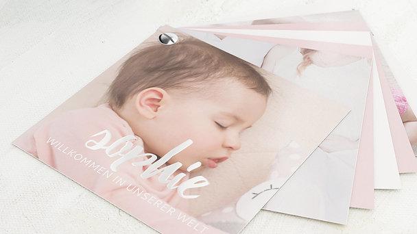 Geburtskarten - Grenzenlose Liebe