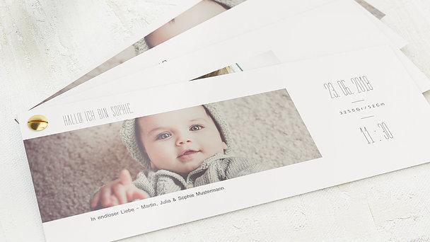 Geburtskarten - Klein aber oho