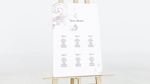 Sitzplan Hochzeit - Frühlingsgefühle