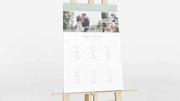 Sitzplan Hochzeit - Sinnesrauschen