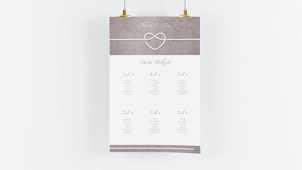 Sitzplan Hochzeit - Starke Verbindung