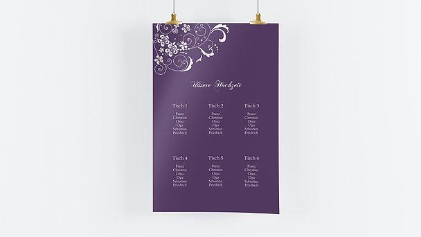Sitzplan Hochzeit - Garten der Träume