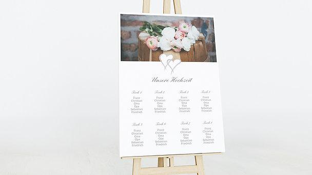 Sitzplan Hochzeit - Mein Herz