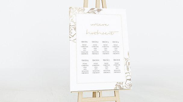 Sitzplan Hochzeit - Rosenstolz