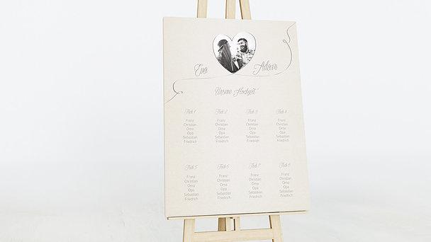 Sitzplan Hochzeit - Leichtigkeit