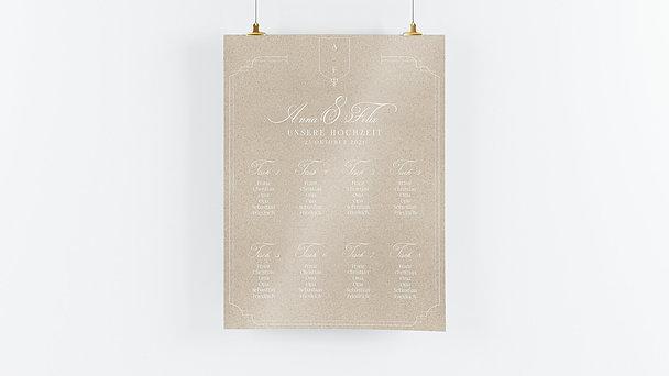 Sitzplan Hochzeit - Glückstag