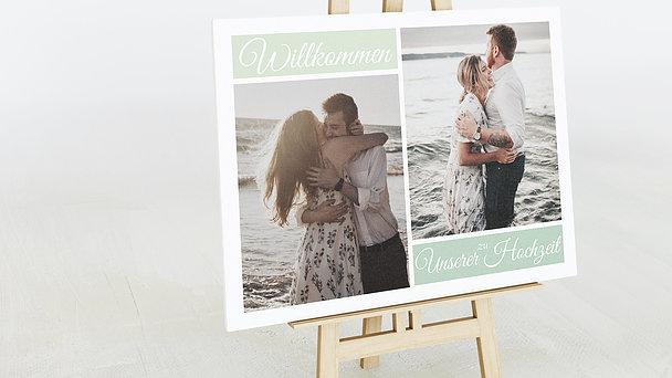 Wegweiser - Hochzeitscollage