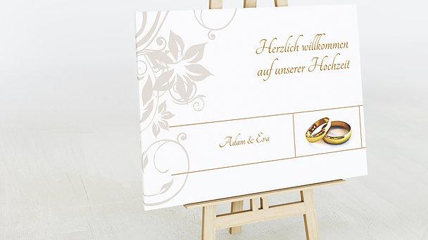 Wegweiser - Weiße Hochzeit