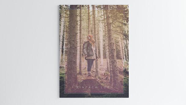 Wandbilder - Waldwanderung
