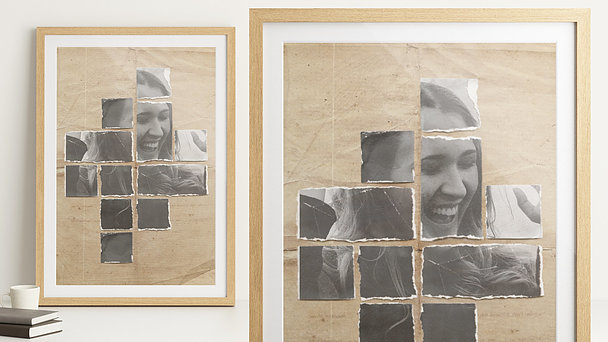 Wandbilder - Vintage Collage