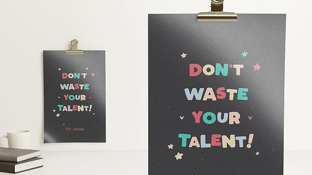Wandbilder - You got talent