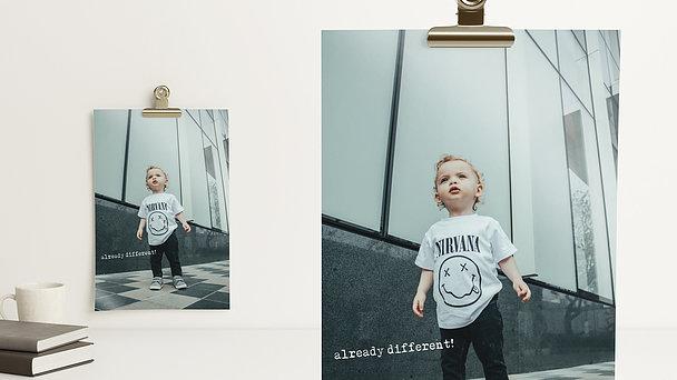 Wandbilder - Little boss