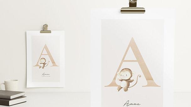 Wandbilder - Ausdrucksvolles A