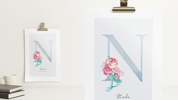 Wandbilder - Nixenhaftes N