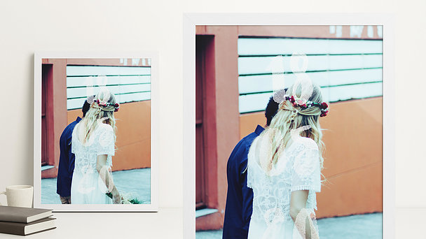Wandbilder - Wedding Day