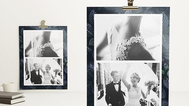 Wandbilder - Floral Wedding