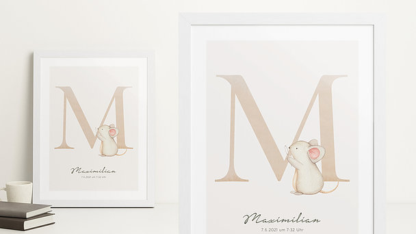 Wandbilder - Magisches M